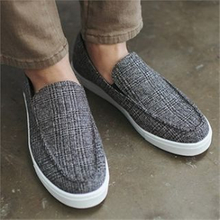 MITOSHOP - Checked Slip-Ons