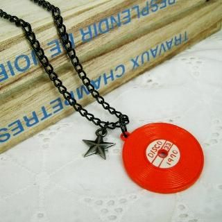MyLittleThing - Rocking Music Necklace(Orange)