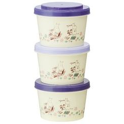 Skater - MOOMIN Food Container Set (240ml) (3 Pieces)