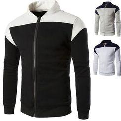 Constein - Color Panel Zip Jacket