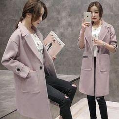 lilygirl - Woolen Long Coat