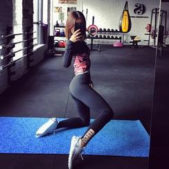 Sylphlike Loli - Strappy Sport Leggings