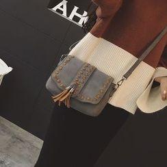 Rosanna Bags - Tasseled Stitch Detailed Crossbody Bag