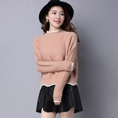 Romantica - Scalloped-Trim Sweater
