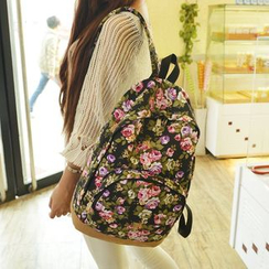 Seok - Floral Backpack