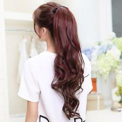 LUMAN - Ponytail Extension - Highlighted Wavy