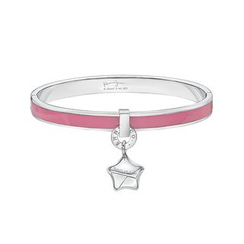 Kenny & co. - Share of Love Lucky Star Pink Enamel Bangle