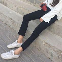Velero - 散口宽腿牛仔裤