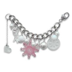 Sweet & Co. - Sweet&Co. Pink Snow Flurry Starlight Swarovski Crystal Bracelet
