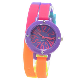 Collezio - Plastic Case With Silicone Band Watch