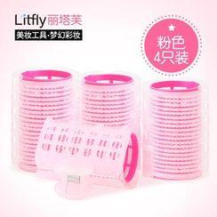 Litfly麗塔芙 - 髮卷 (粉色)