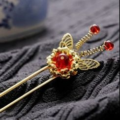 Paparazzi - Butterfly Hair Pin