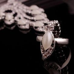 Seirios - Rhinestone Beaded Bracelet/Anklet