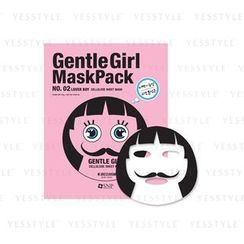 SNP - Gentle Girl Mask Pack Cellulose Sheet Mask (No.02 Lover Boy)
