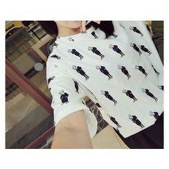 MATO - Print Short-Sleeve T-Shirt