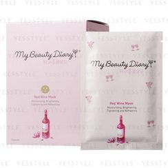 My Beauty Diary - Red Wine Mask (English Version)