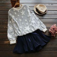 YOYO - Long-Sleeve Lace Top