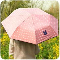 默默爱 - 印花折叠雨伞