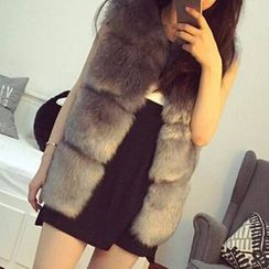 Ryefield - Furry Long Vest