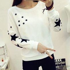 Fashion Street - Star Applique Pullover