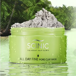 SCINIC - All Day Fine Pore Clay Mask 100g