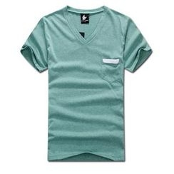 MR.PARK - Short-Sleeve V-Neck T-Shirt