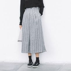 Everies - Cropped Wide Leg Pants