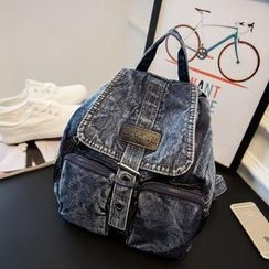 Nautilus Bags - Washed Denim Backpack