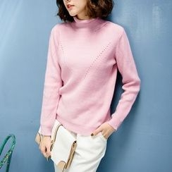 Tokyo Fashion - Long-Sleeve Open-Knit Top