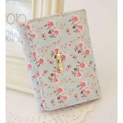 Bags 'n Sacks - Tri-Fold Floral Print Wallet