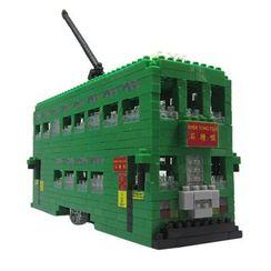 M.H. Blocks - 香港電車積木玩具