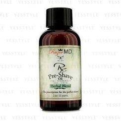 Razor MD - RX Pre Shave Oil - Herbal Blend