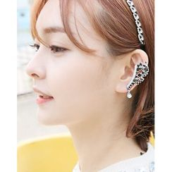 Miss21 Korea - Cluster Ear Cuff (Single)