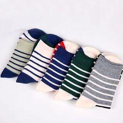 Aeoo - 條紋襪