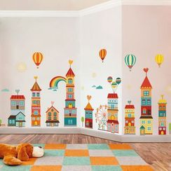 LESIGN - Houses Wall Sticker