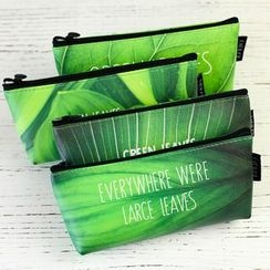Homey House - 树叶印花笔袋