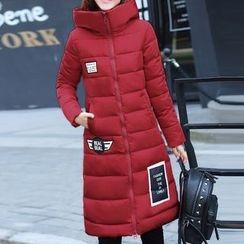 Donnae - Applique Padded Coat