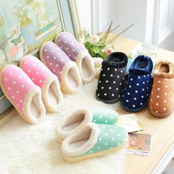 Rivari - Polka Dot Couple Slippers