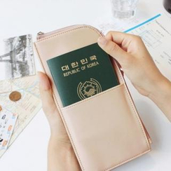 iswas - Passport Pouch with Strap