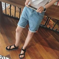 JUN.LEE - Denim Shorts