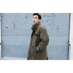 SCOU - Funnel-Neck Elbow-Patch Parka