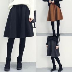 Moon City - Elasticized Acrylic Skirt