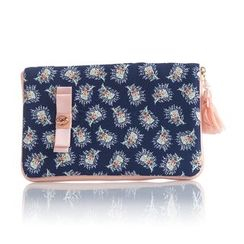 Cottoncraft - Floral Print Travel Wallet