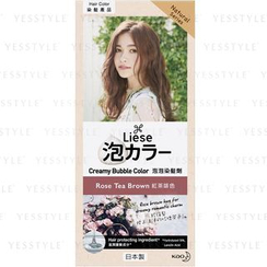 Kao - Liese Creamy Bubble Hair Color (Rose Tea Brown)