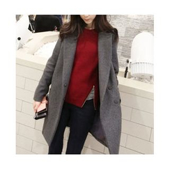 Oaksa - Snap-Button Coat