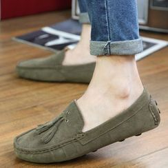 Hipsteria - Genuine Suede Loafers