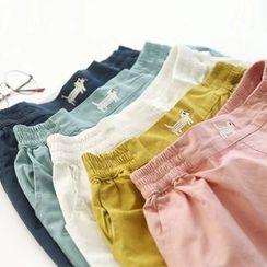 Bonbon - Embroidered Shorts
