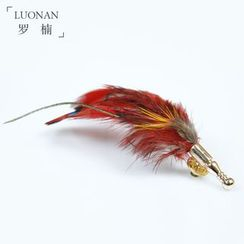 Luonan - Feather Brooch