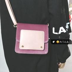 DAMENTO - Velvet Shoulder Bag