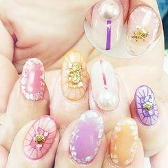 GEL NAILS - 碎玻璃指甲彩片